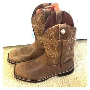 Justin Boots George Strait Collection Riding Boot
